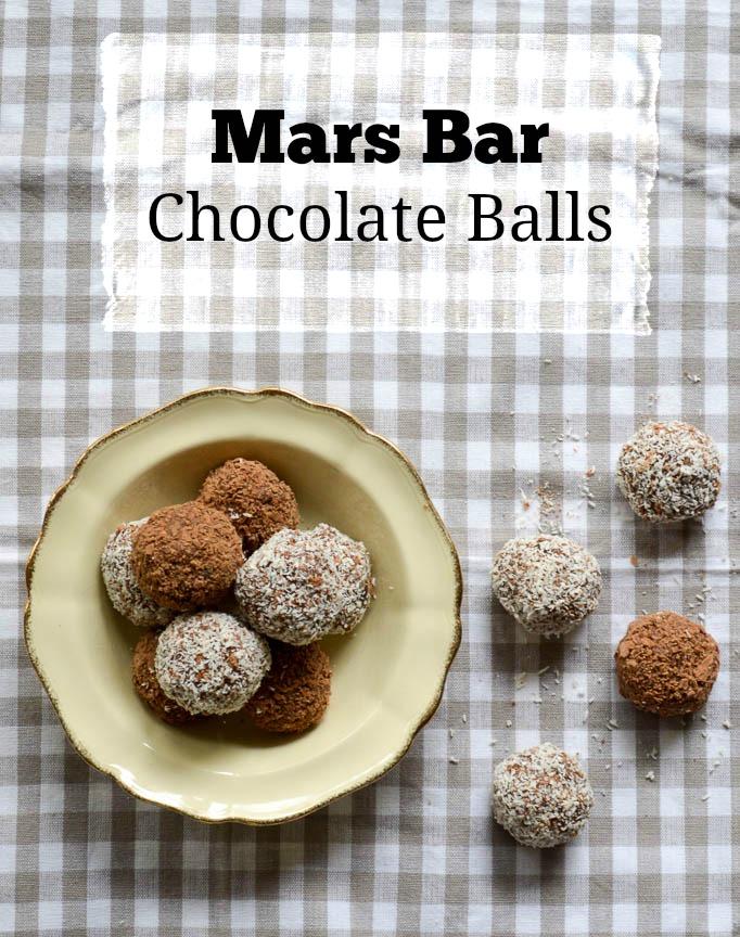 mars bar chocolate balls